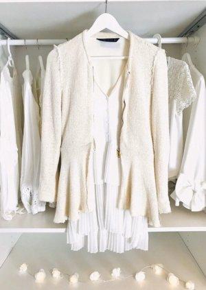 Zara Blouson natural white-cream