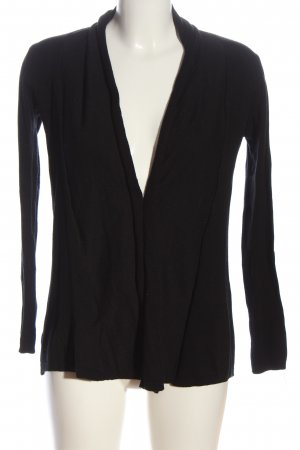 Zara Cardigan schwarz Casual-Look