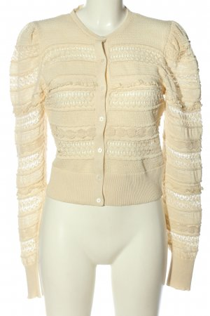 Zara Cardigan creme Casual-Look