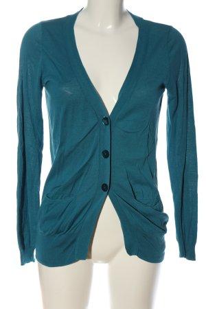 Zara Cardigan blau Casual-Look