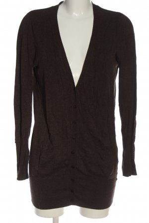 Zara Cardigan braun Casual-Look