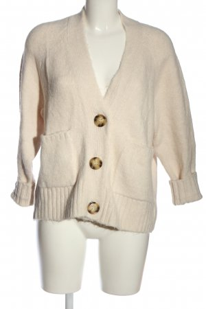 Zara Cardigan blanc cassé style décontracté