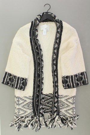 Zara Cardigan a maglia grossa oro-nero Cotone