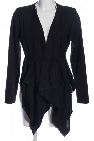 Zara Cardigan schwarz Business-Look