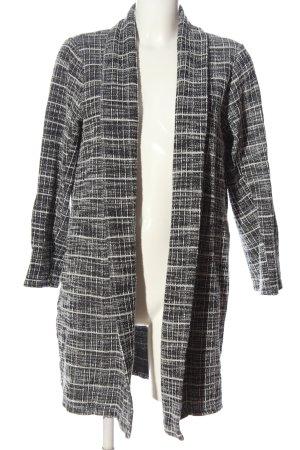 Zara Cardigan schwarz-weiß Casual-Look