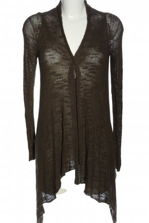 Zara Cardigan braun Casual-Look