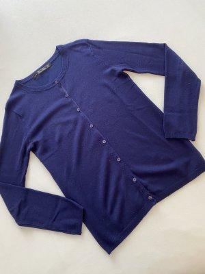 Zara Cardigan in maglia blu