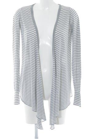 Zara Cardigan grau-weiß klassischer Stil