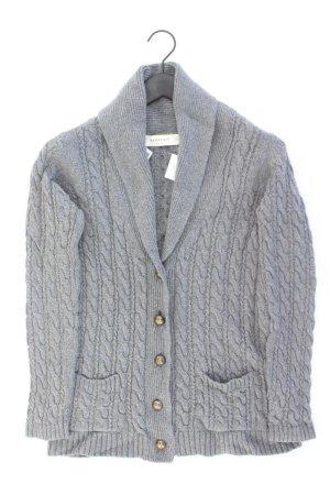 Zara Cardigan Größe L grau aus Baumwolle