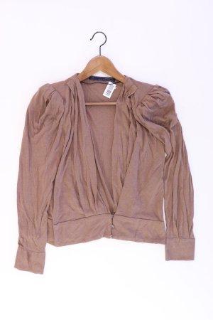 Zara Cardigan Größe M braun aus Baumwolle
