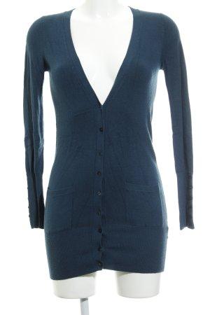 Zara Cardigan petrol Casual-Look