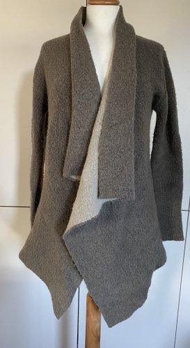 ZARA Cardigan S 36 Strickjacke beige knit Strick Jacke