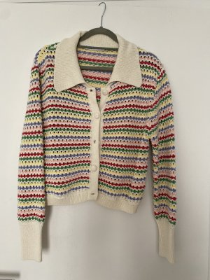 Zara cardigan Strickjacke bunt Granny Style Gr. M