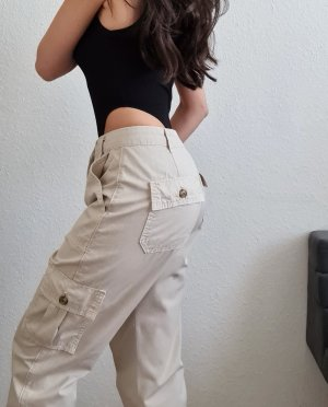 Zara Pantalon cargo multicolore