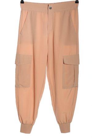 Zara Cargohose pink Casual-Look