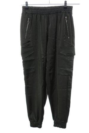 Zara Cargohose schwarz Casual-Look