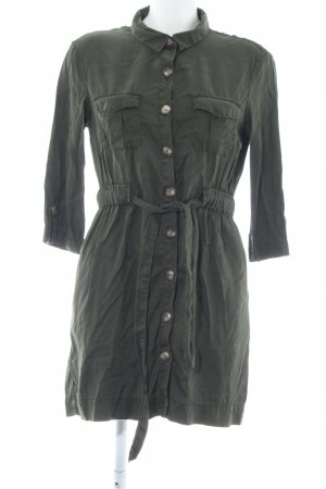 Zara Cargojurk khaki zakelijke stijl