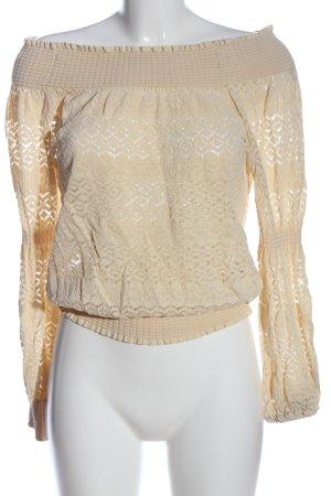 Zara Carmen-Bluse creme Casual-Look