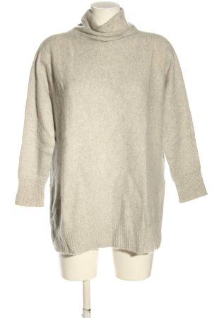 Zara Pull en cashemire blanc cassé style décontracté