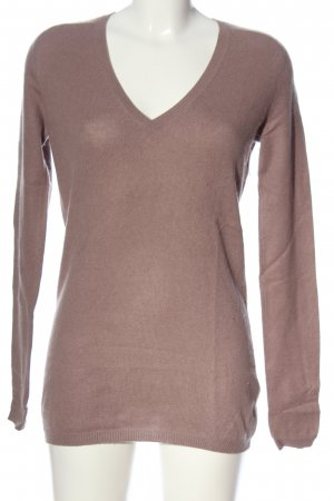 Zara Pullover in cashmere lilla stile casual