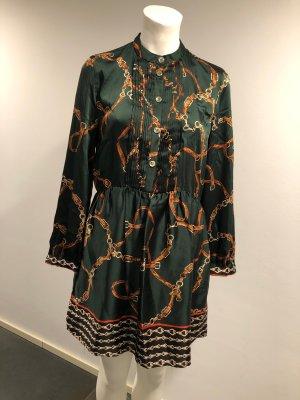 Zara Basic Shirtwaist dress dark green