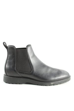 Zara Chelsea Boots black business style