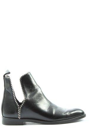 Zara Chelsea Boots schwarz Casual-Look