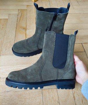 Zara Chelsea Boot multicolore cuir