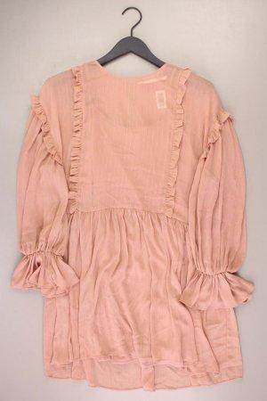 Zara Szyfonowa sukienka stary róż-różany-jasny różowy-różowy