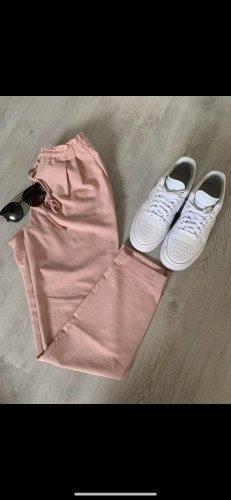Zara Pantalon chinos or rose-rosé
