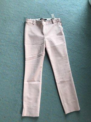 Zara Pantalon à pinces rose clair