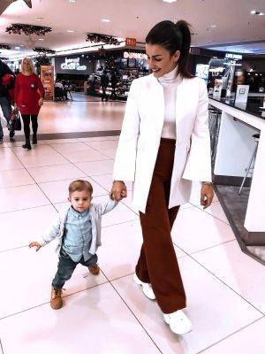Zara Veste chemisier blanc