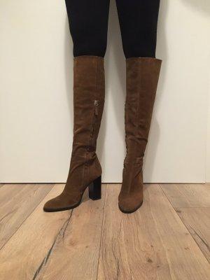 ZARA Collection Velour Stiefel