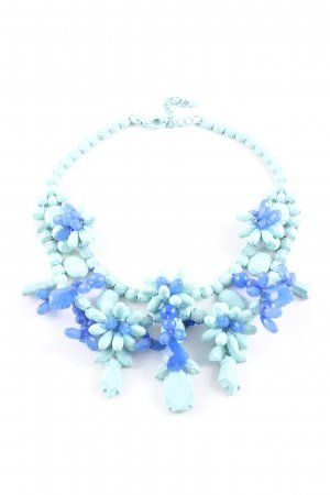 Zara Collier Necklace turquoise-blue elegant