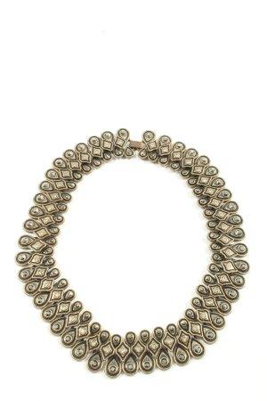 Zara Collier goldfarben Elegant