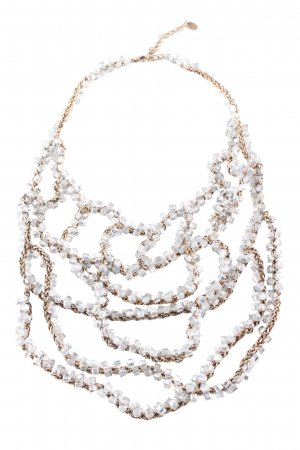 Zara Collier Necklace bronze-colored-silver-colored elegant