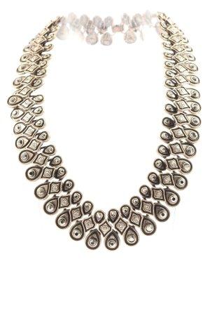 Zara Collier bronzefarben Casual-Look