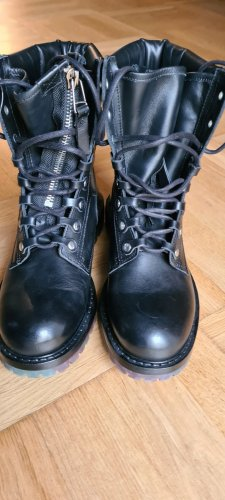 Zara Aanrijg laarzen zwart