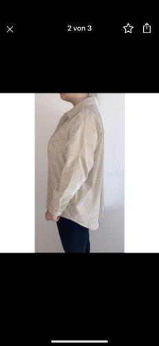 Zara Long Sleeve Shirt cream