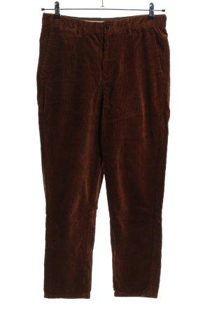 Zara Pantalón de pana marrón look casual
