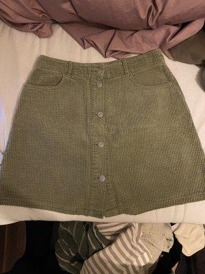 Zara Mini-jupe kaki