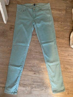 Zara Core denim Hose Jeans Gr.40 Türkis hellblau