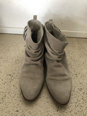 Zara Cowboy Boots 41 Leder Fransen