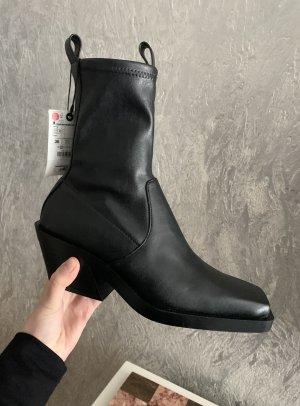 Zara Bottines à enfiler noir