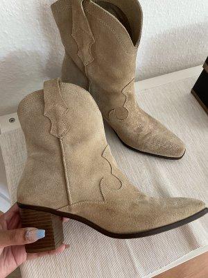 Zara Boots western multicolore