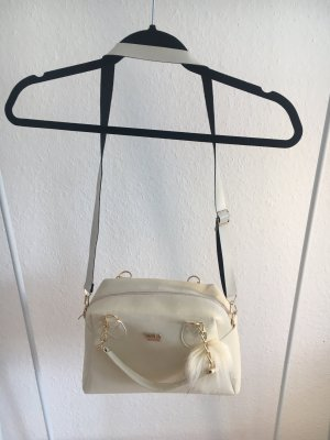 ZARA Creme Handtasche