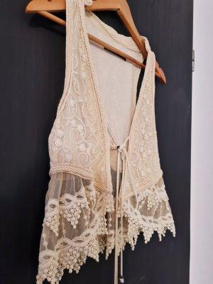 Zara Crochet Weste