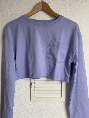 Zara Cropped shirt paars-lila