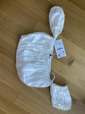 Zara Cropped Top white