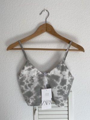 Zara Crop Top Batik S